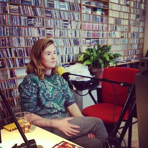 Live Bellyhorn radio interview at Concertzender